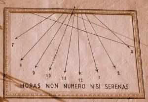 Horae Obscura XVI :: Horas non numero nisi serenas