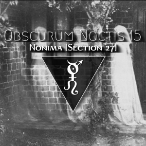Electronica from the Scottish Section 27 label mixed by Nonima