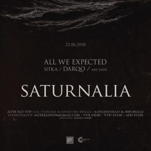 Mixtape for Alter Ego's Saturnalia event