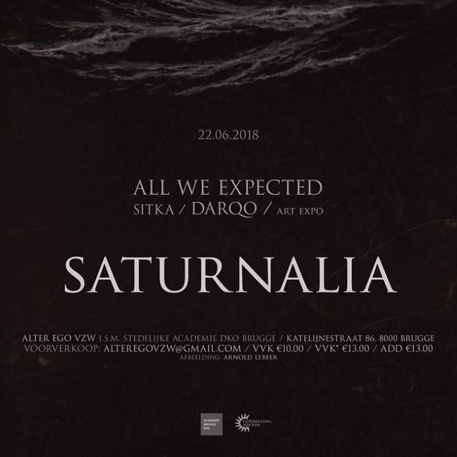 Win Free Tickets for Saturnalia (yes I'm also playing there!)